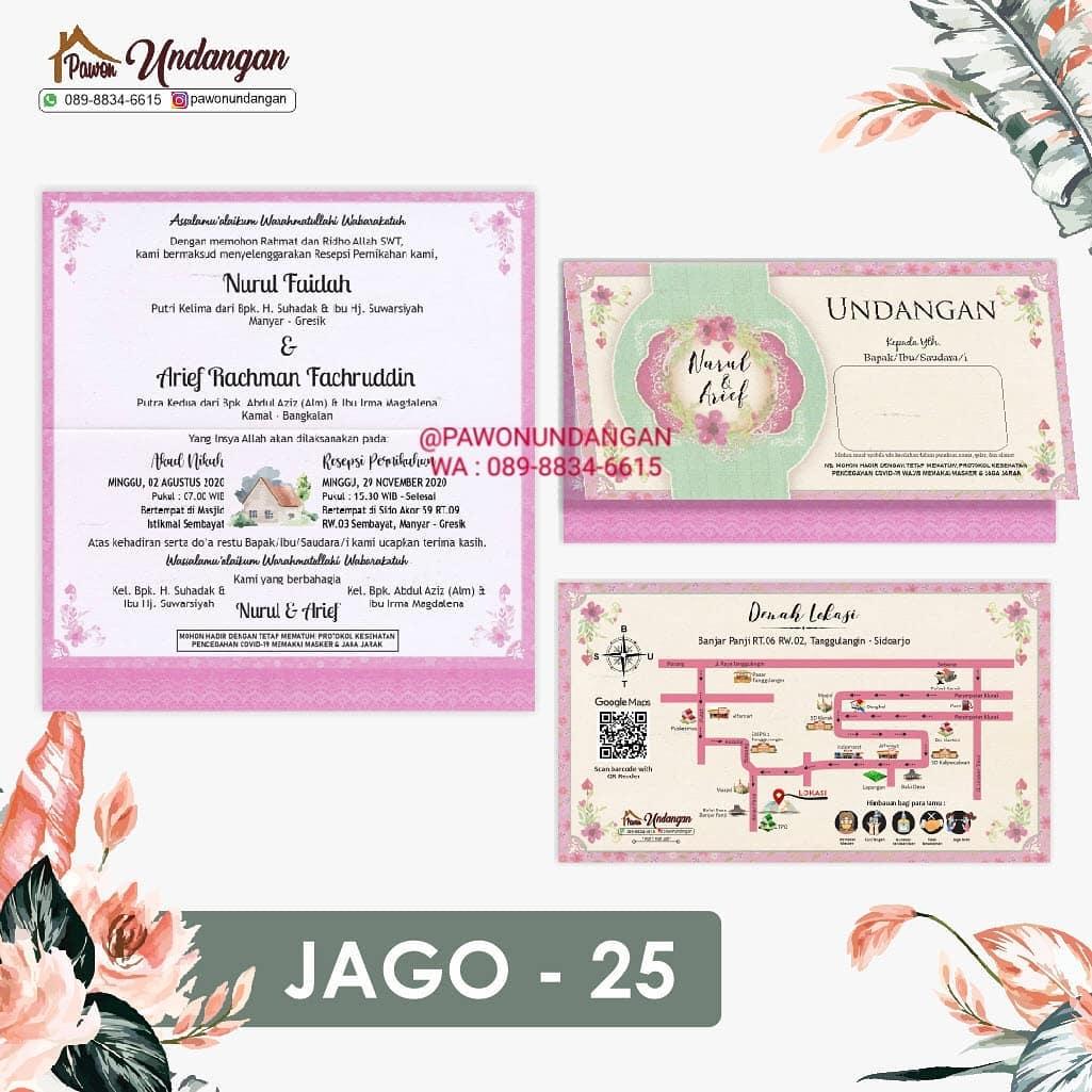 undangan jago 25