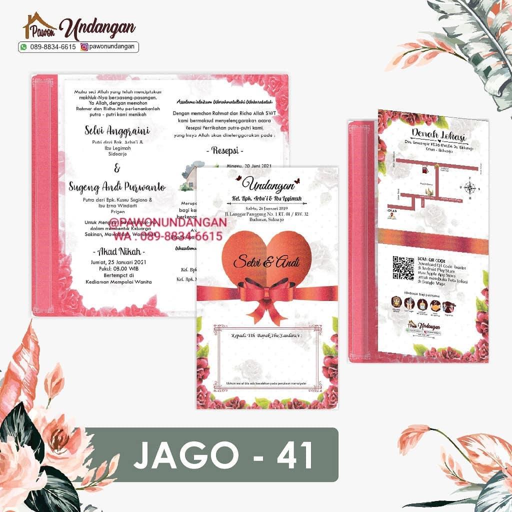 undangan jago 41