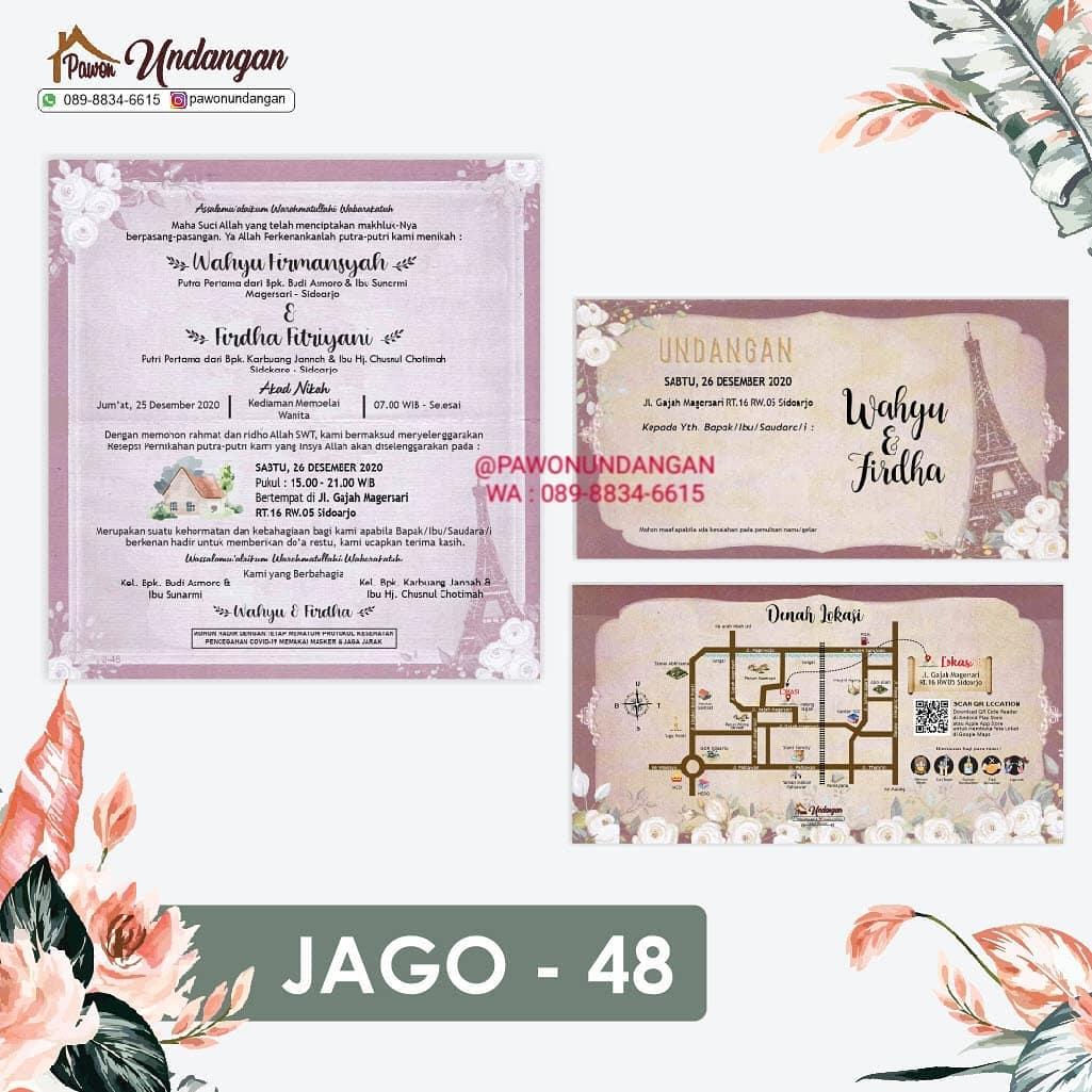 undangan jago 48