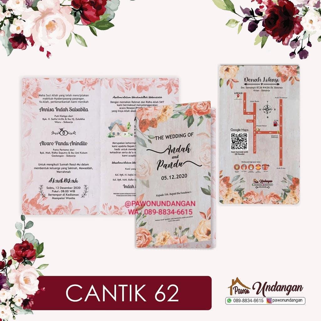 undangan cantik 62
