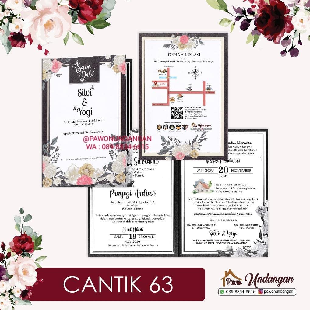 undangan cantik 63