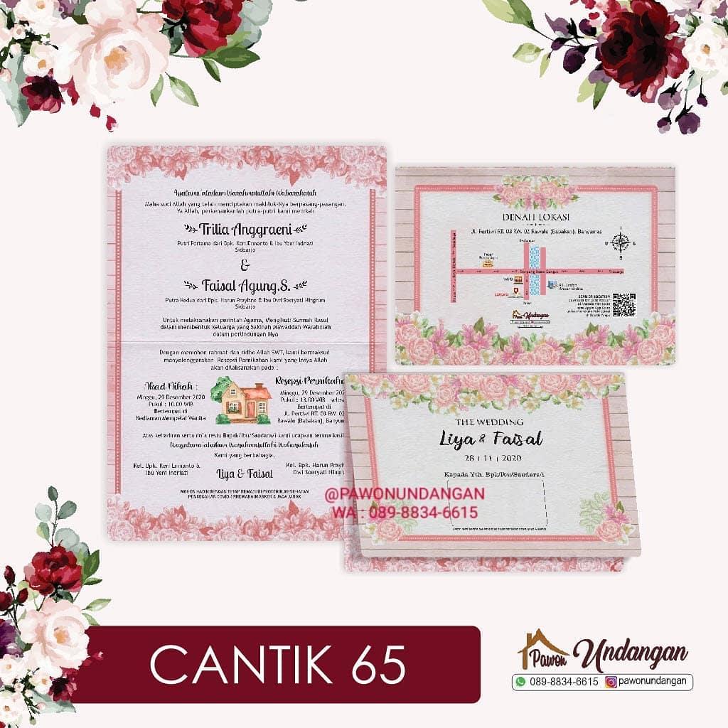 undangan cantik 65