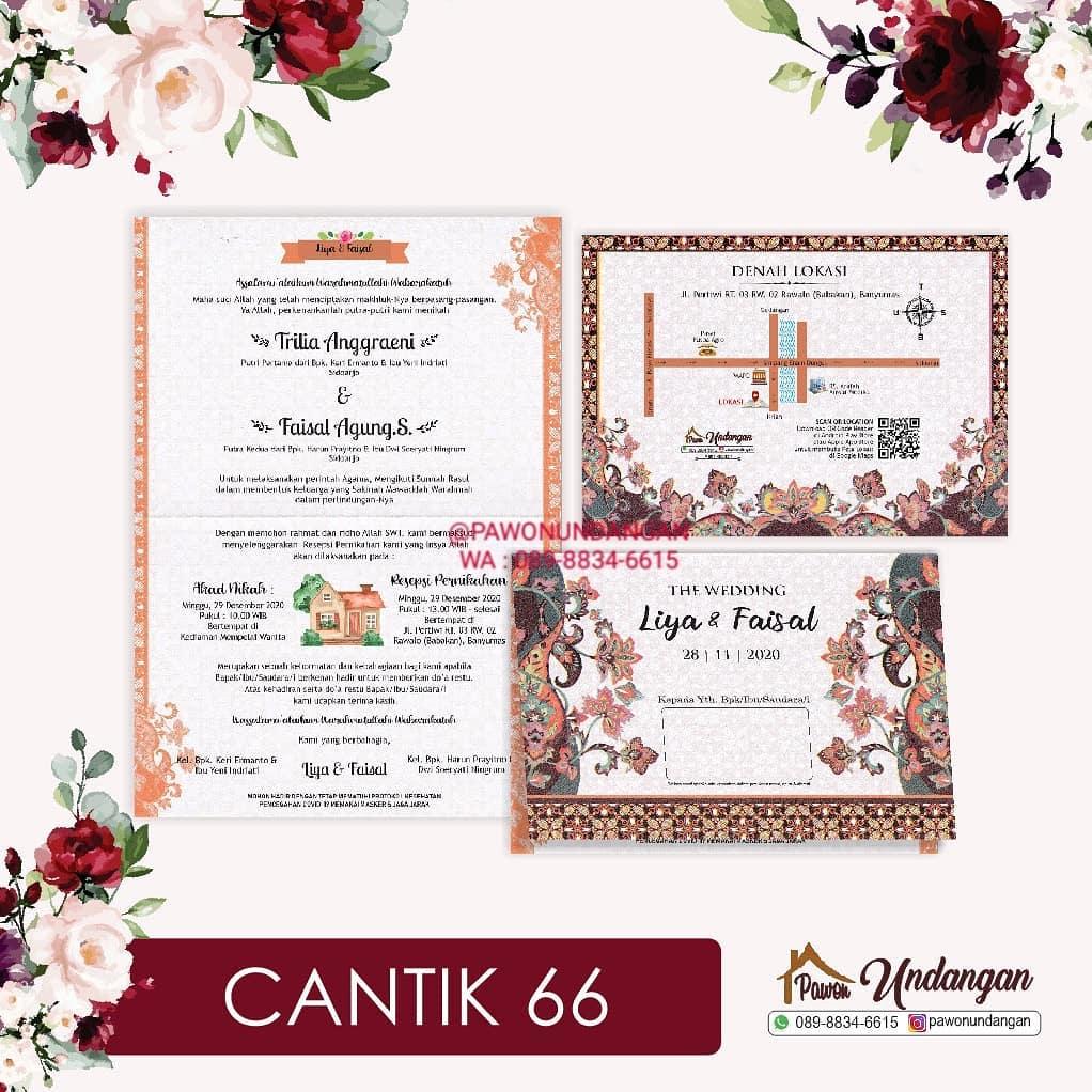 undangan cantik 66