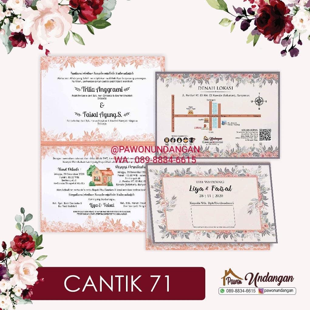 undangan cantik 71