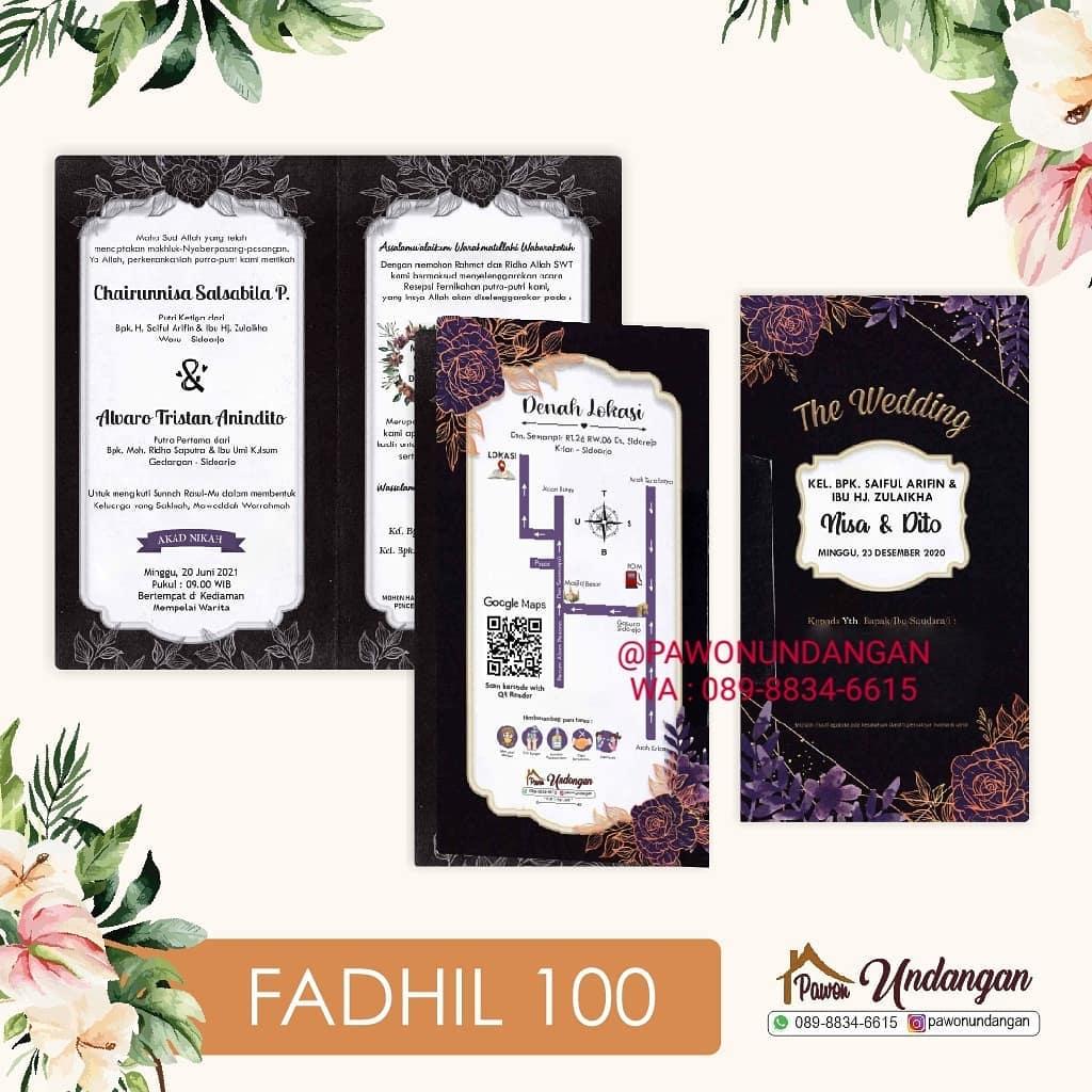 undangan fadhil 100