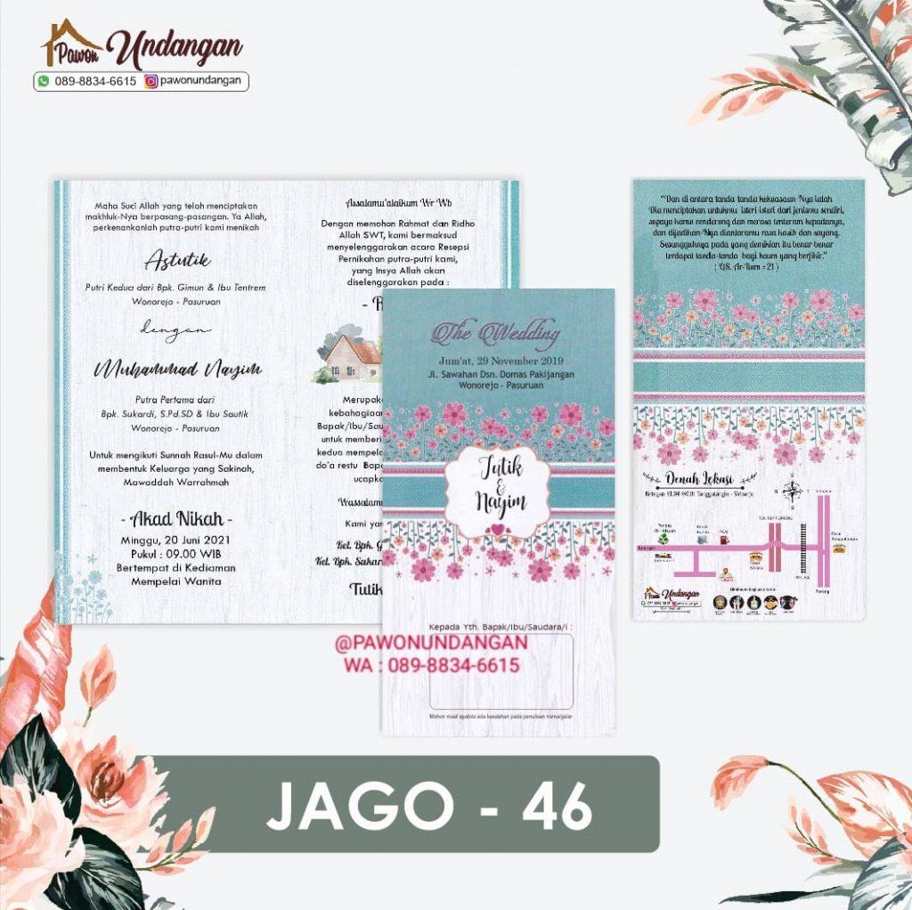 undangan jago 46