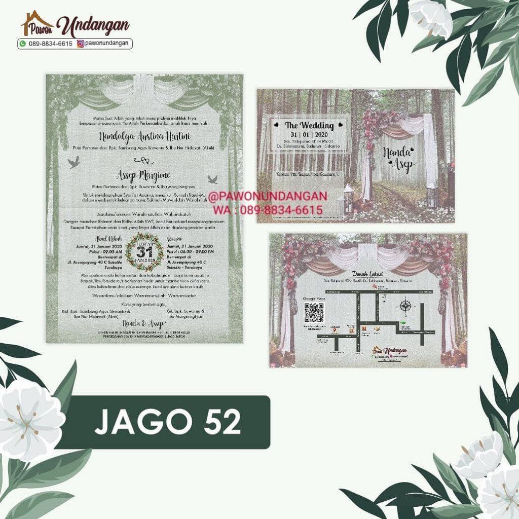 undangan jago 52