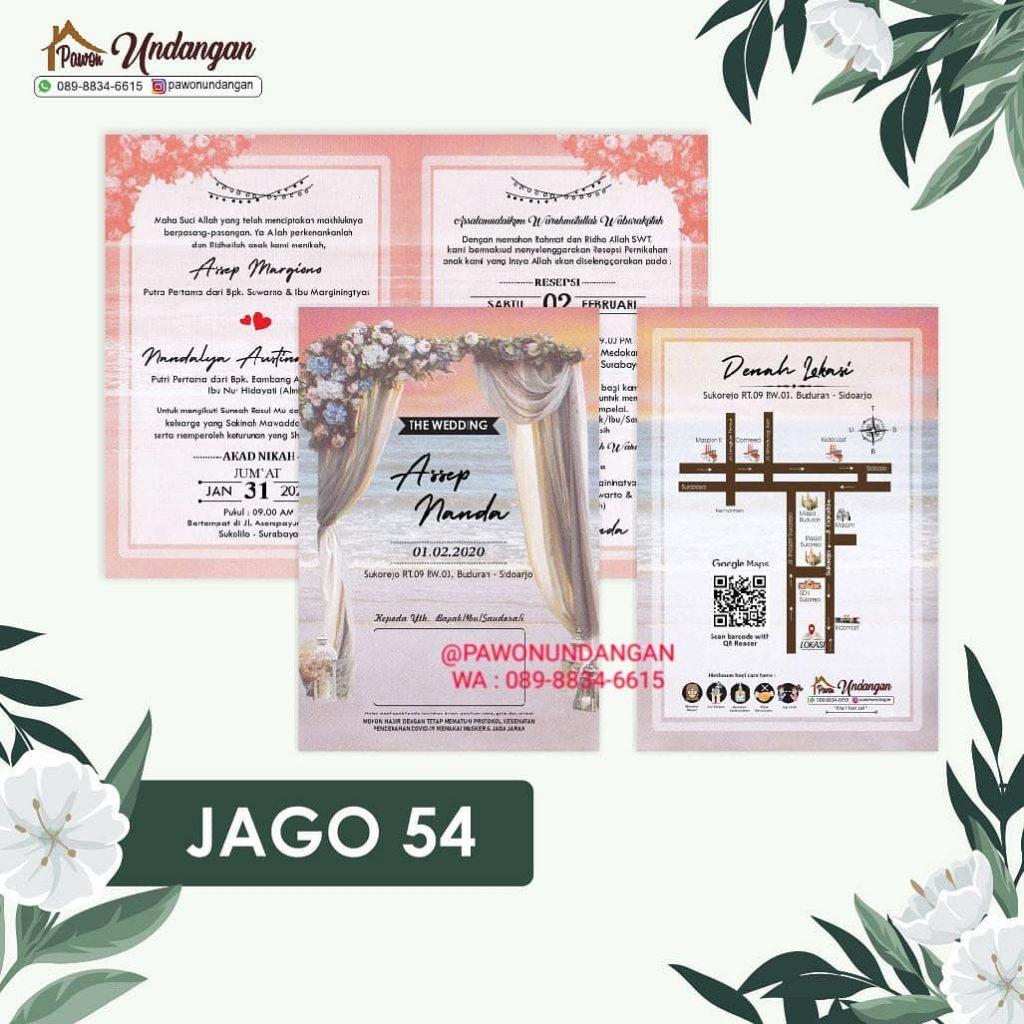 undangan jago 54