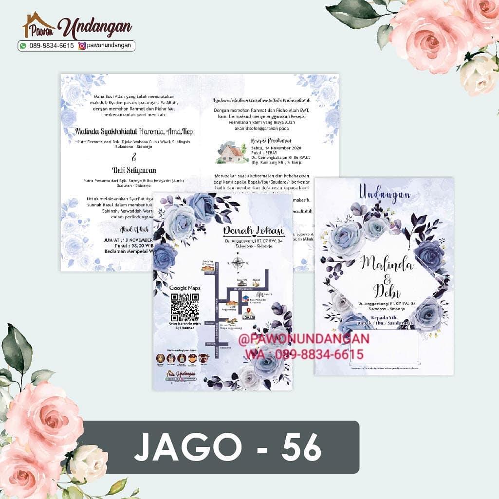 undangan jago 56