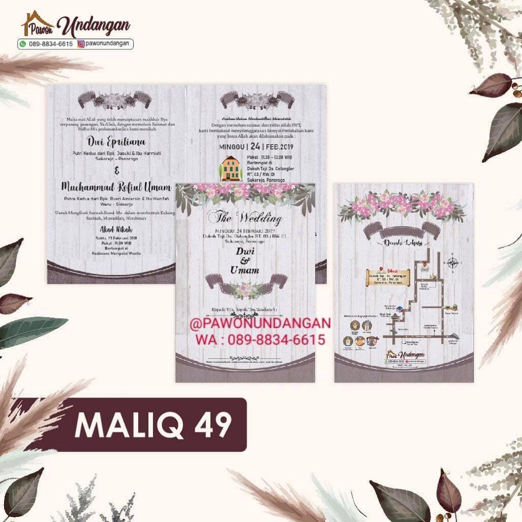 undangan maliq 49