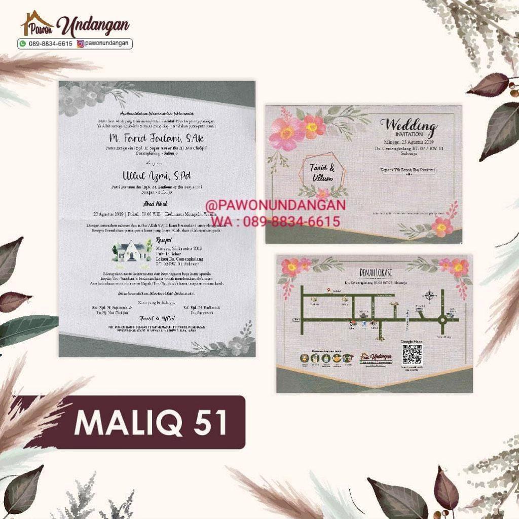 undangan maliq 51