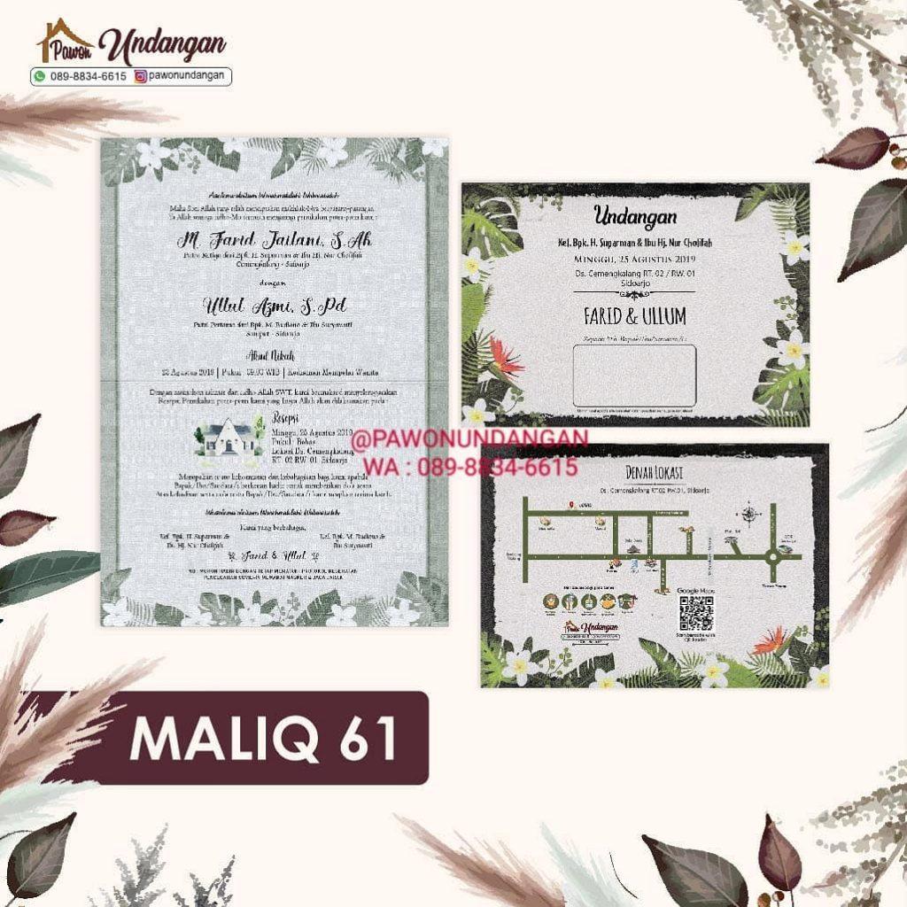 undangan maliq 61