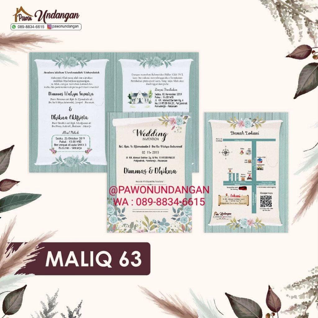 undangan maliq 63