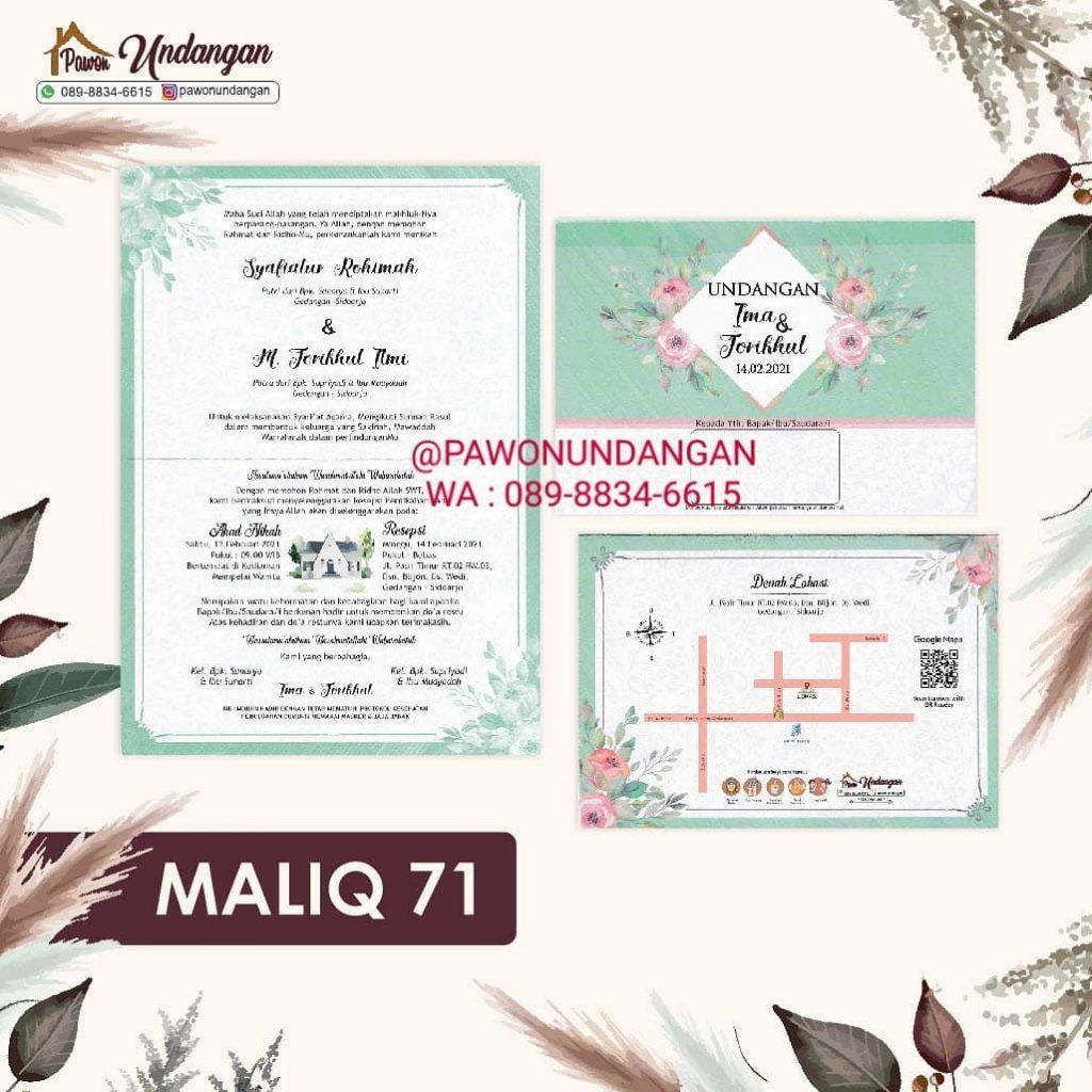 undangan maliq 71
