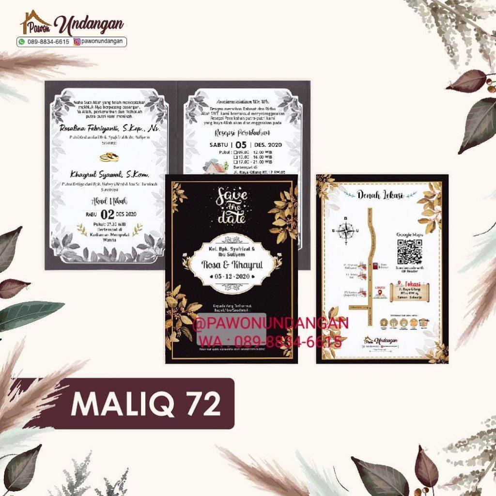 undangan maliq 72