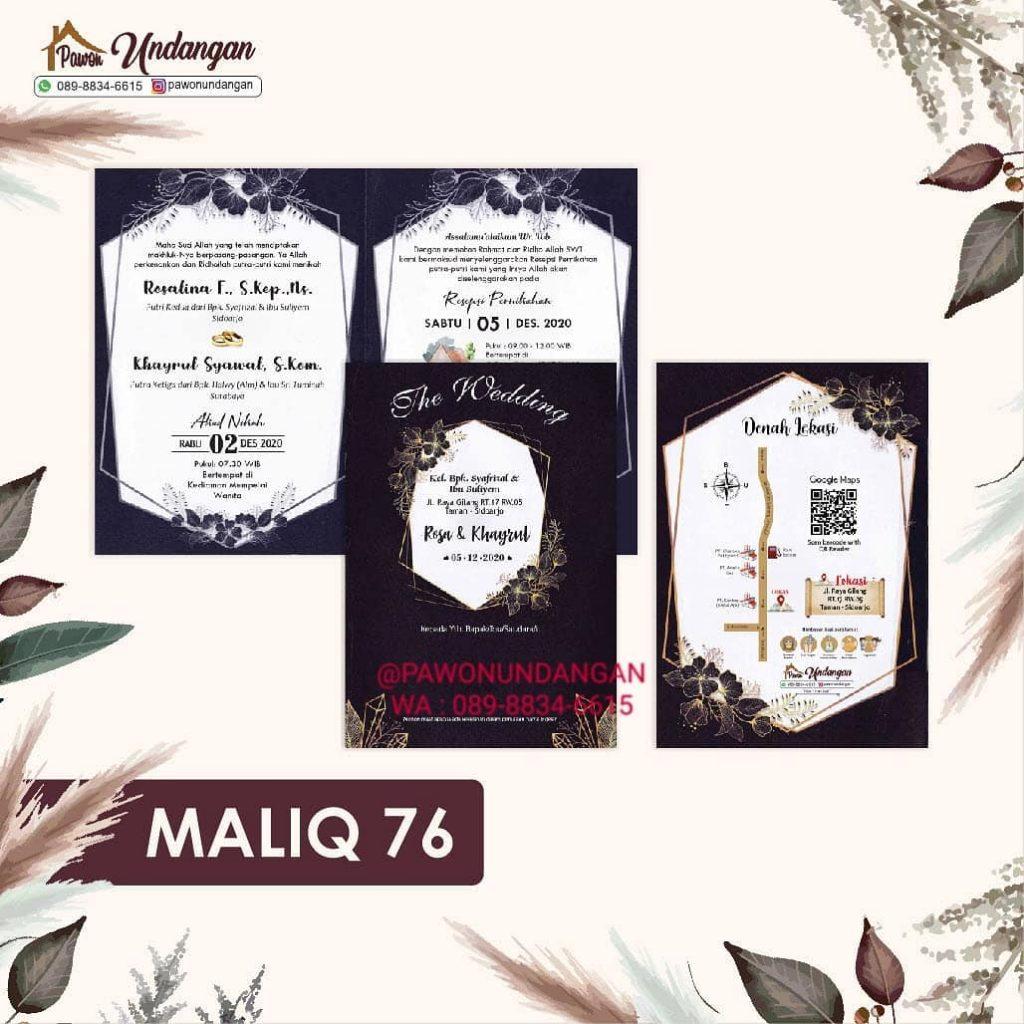 undangan maliq 76