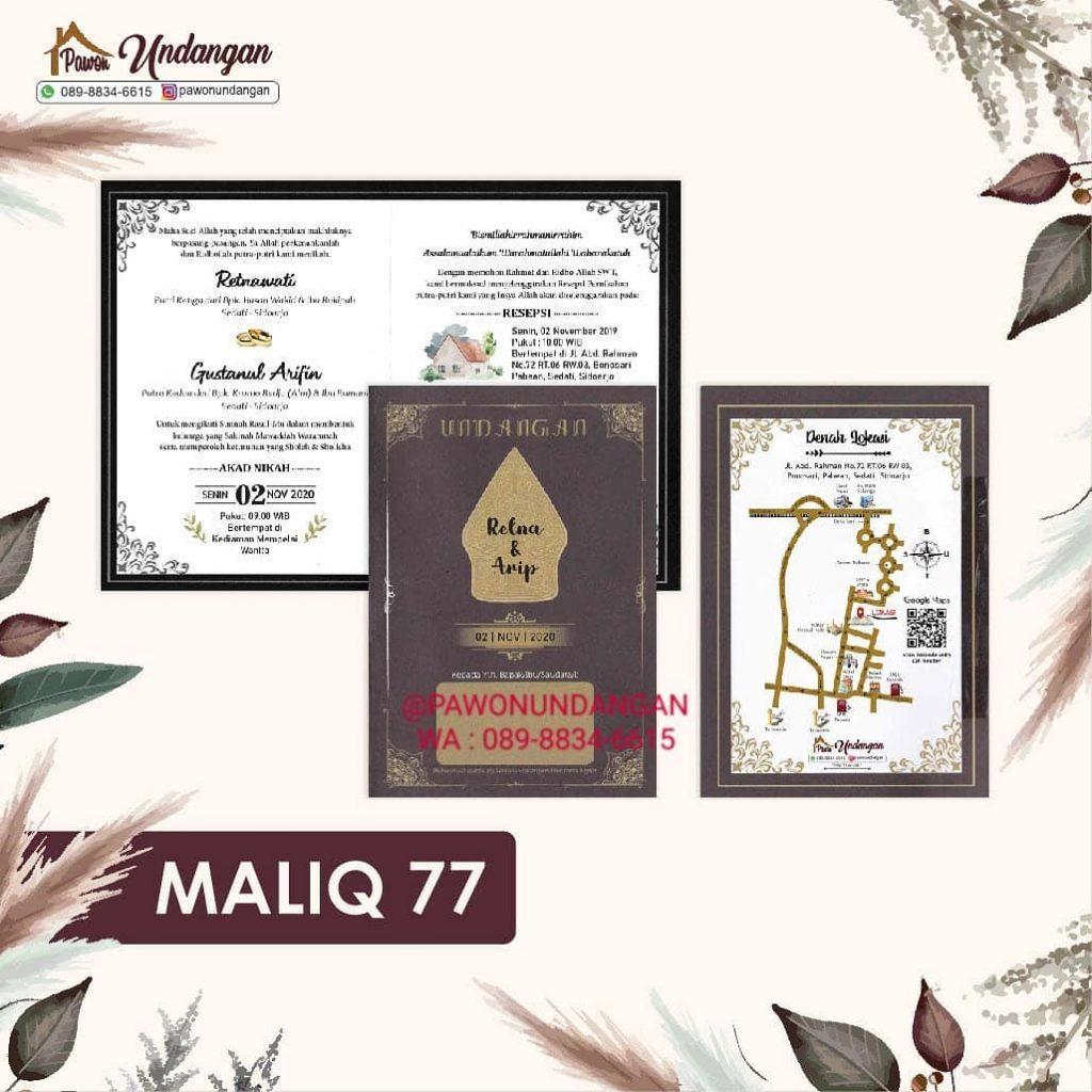 undangan maliq 77
