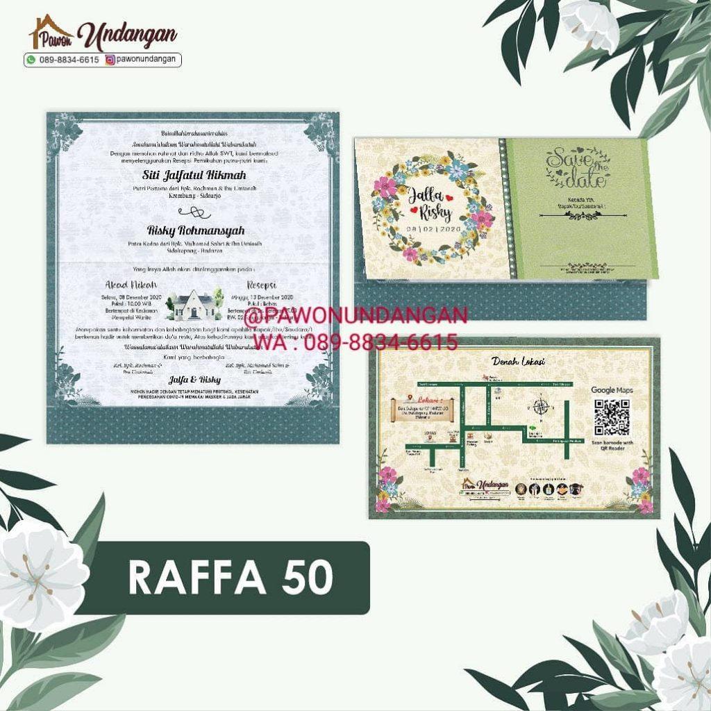 undangan raffa 50
