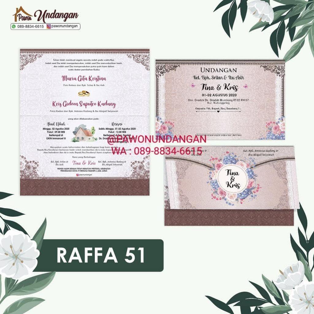 undangan raffa 51