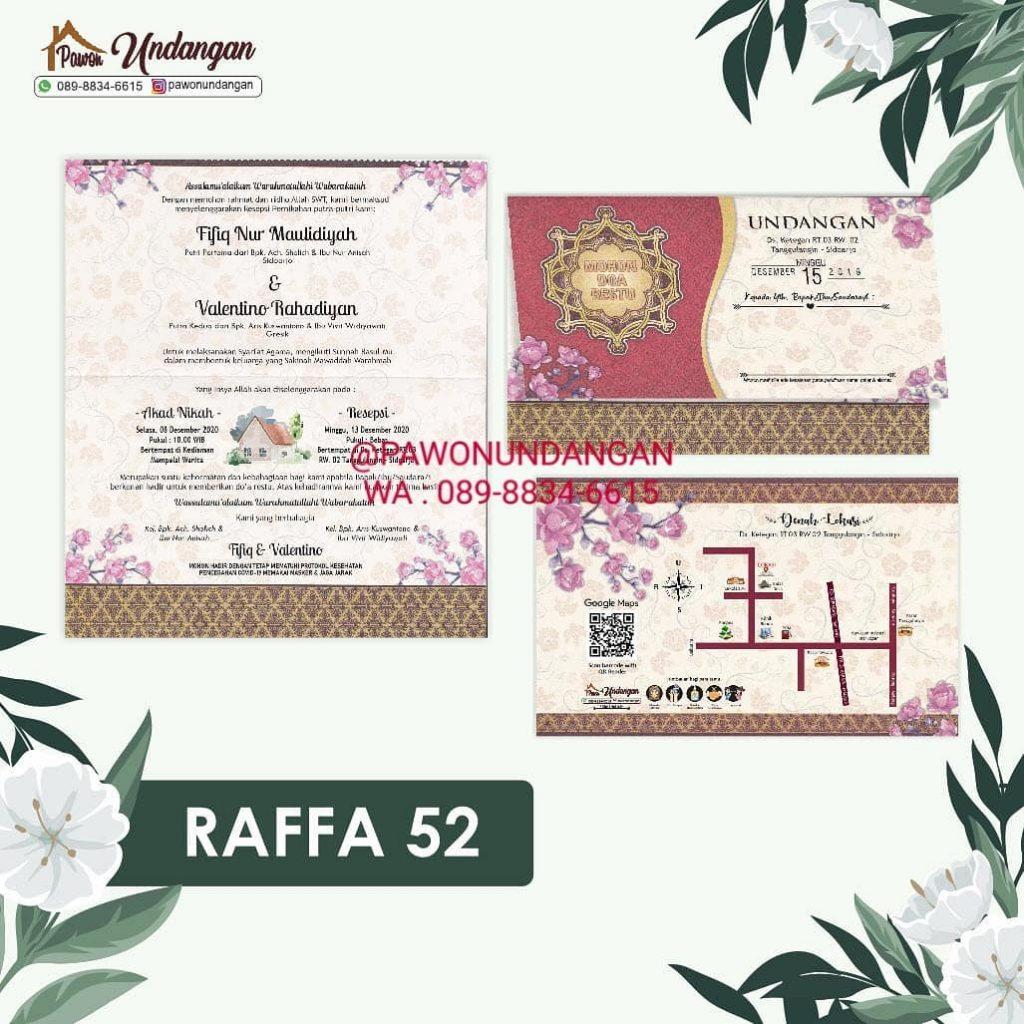 undangan raffa 52