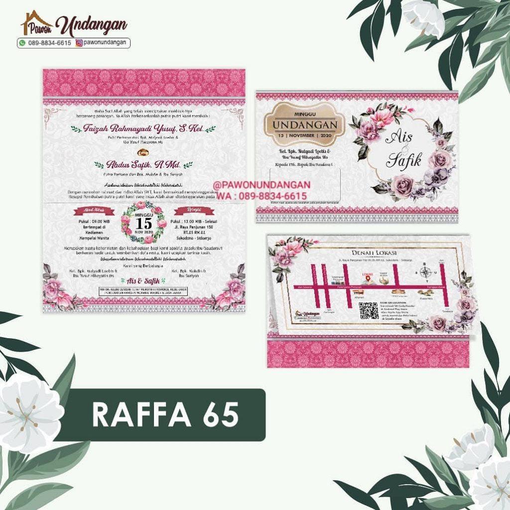 undangan raffa 65