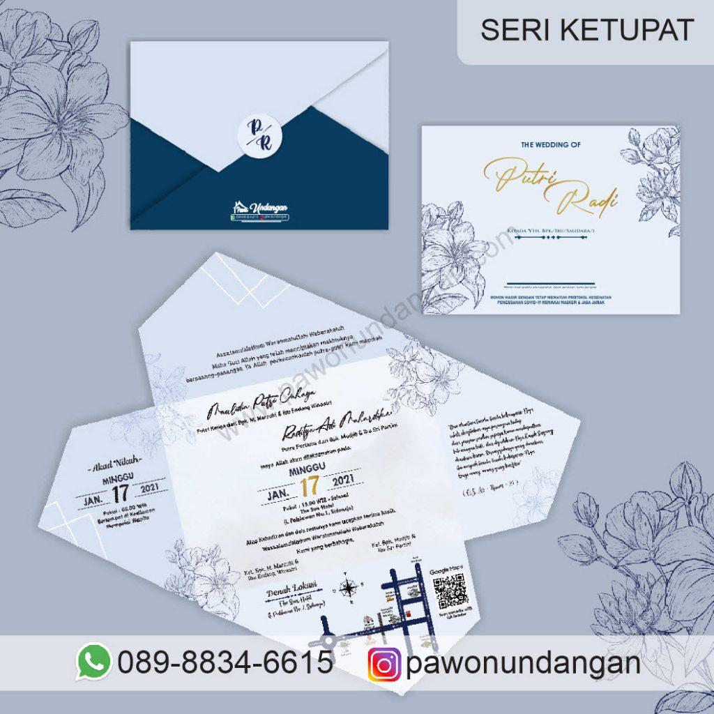 undangan custom ketupat 5