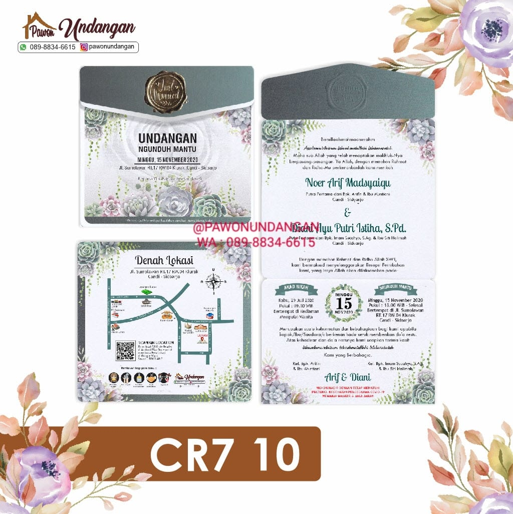 undangan cr7 10