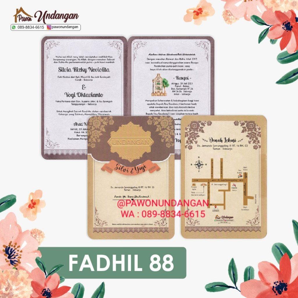 undangan fadhil 88