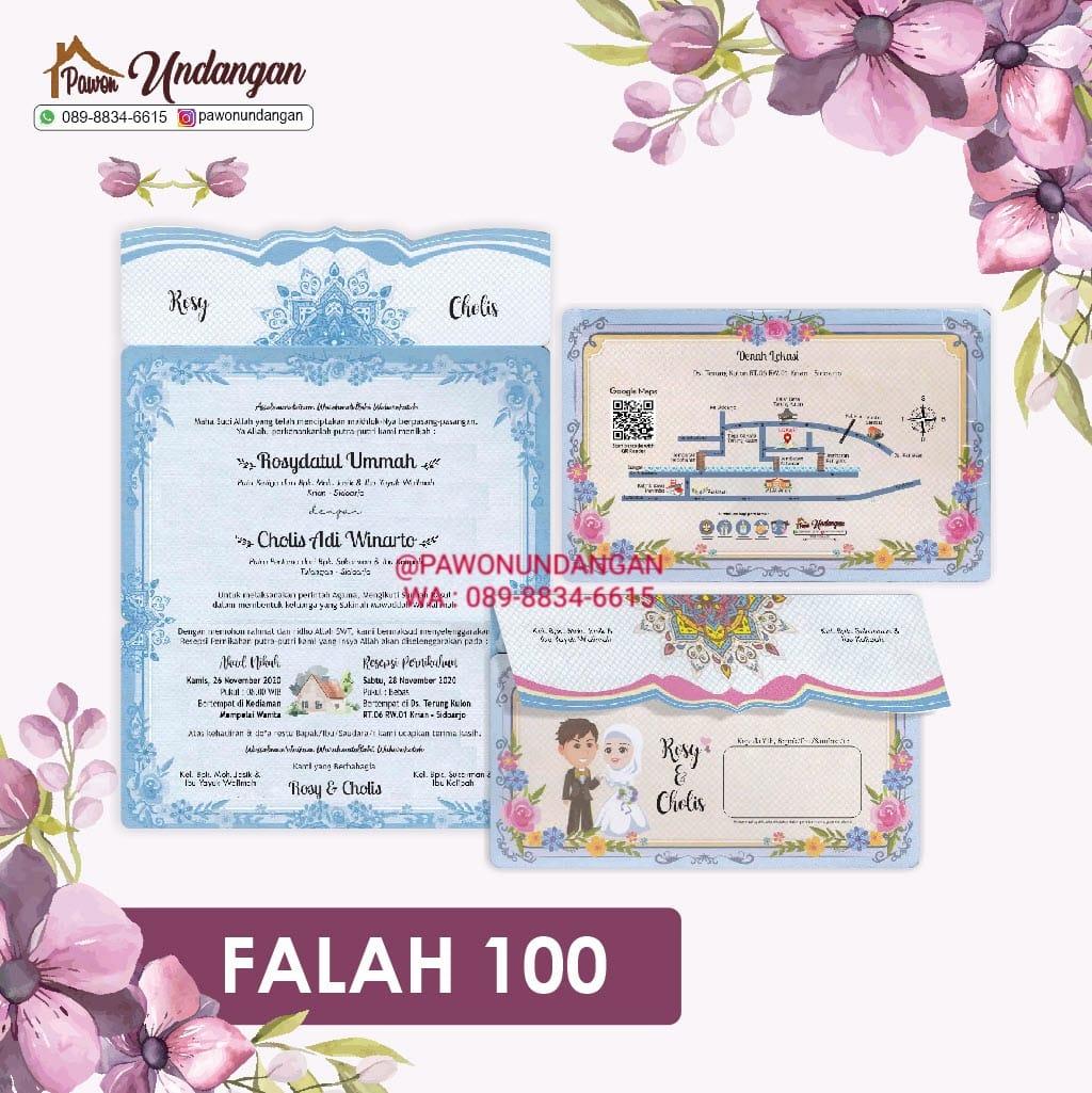 undangan falah 100