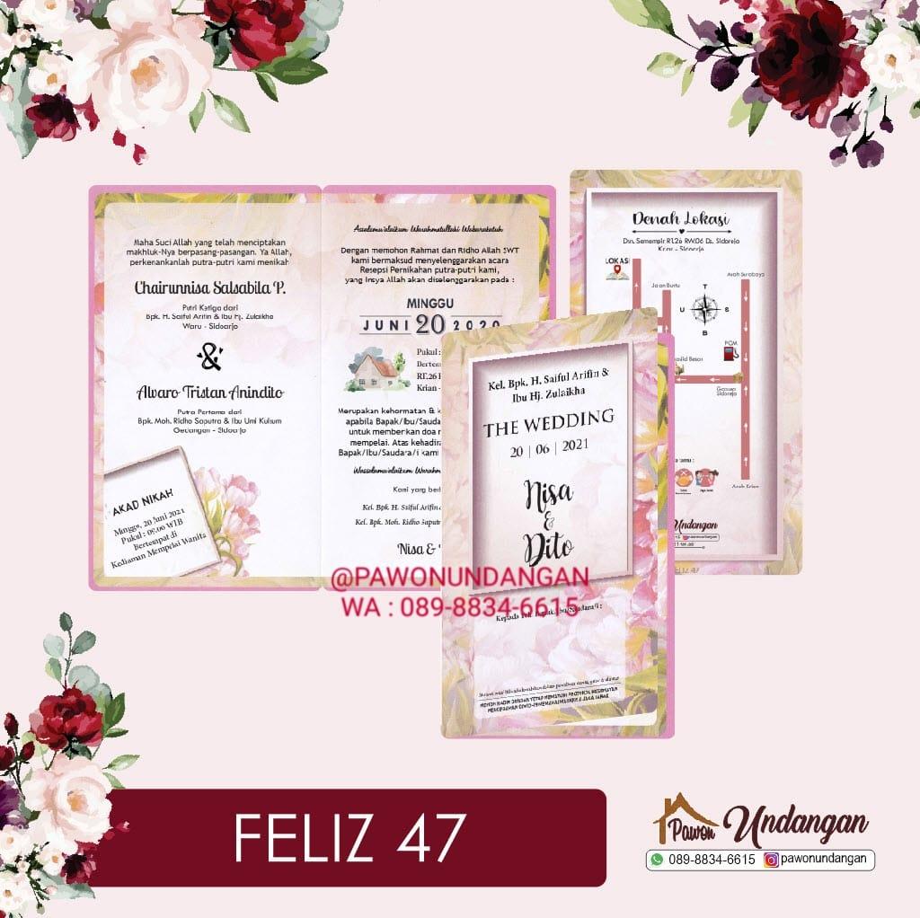 undangan feliz 47