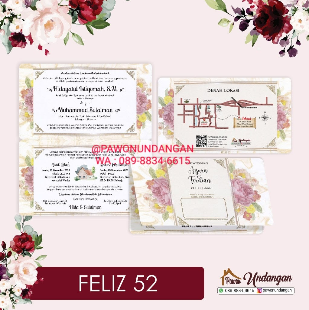 undangan feliz 52