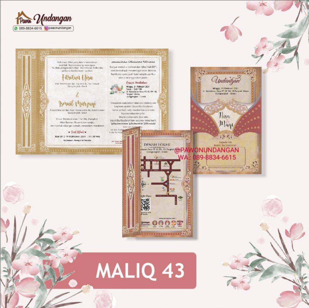 undangan maliq 43
