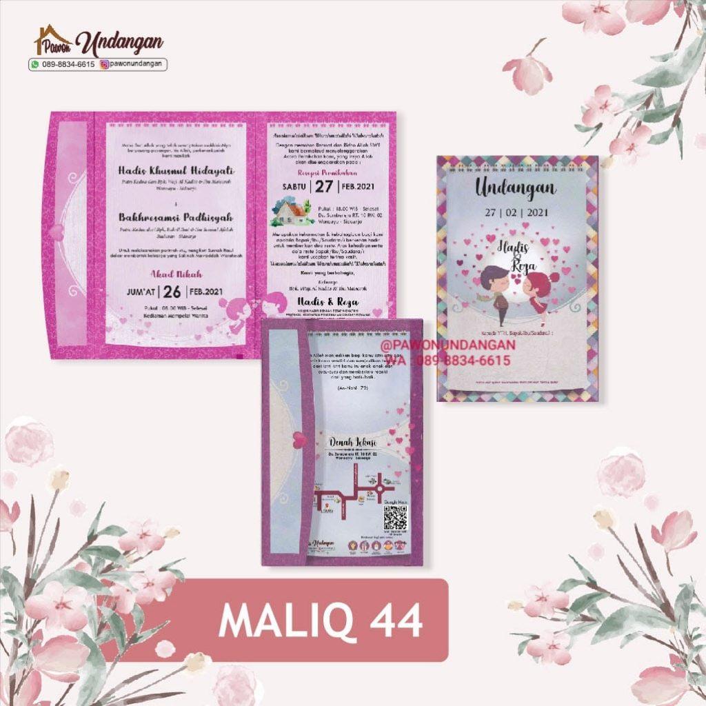 undangan maliq 44