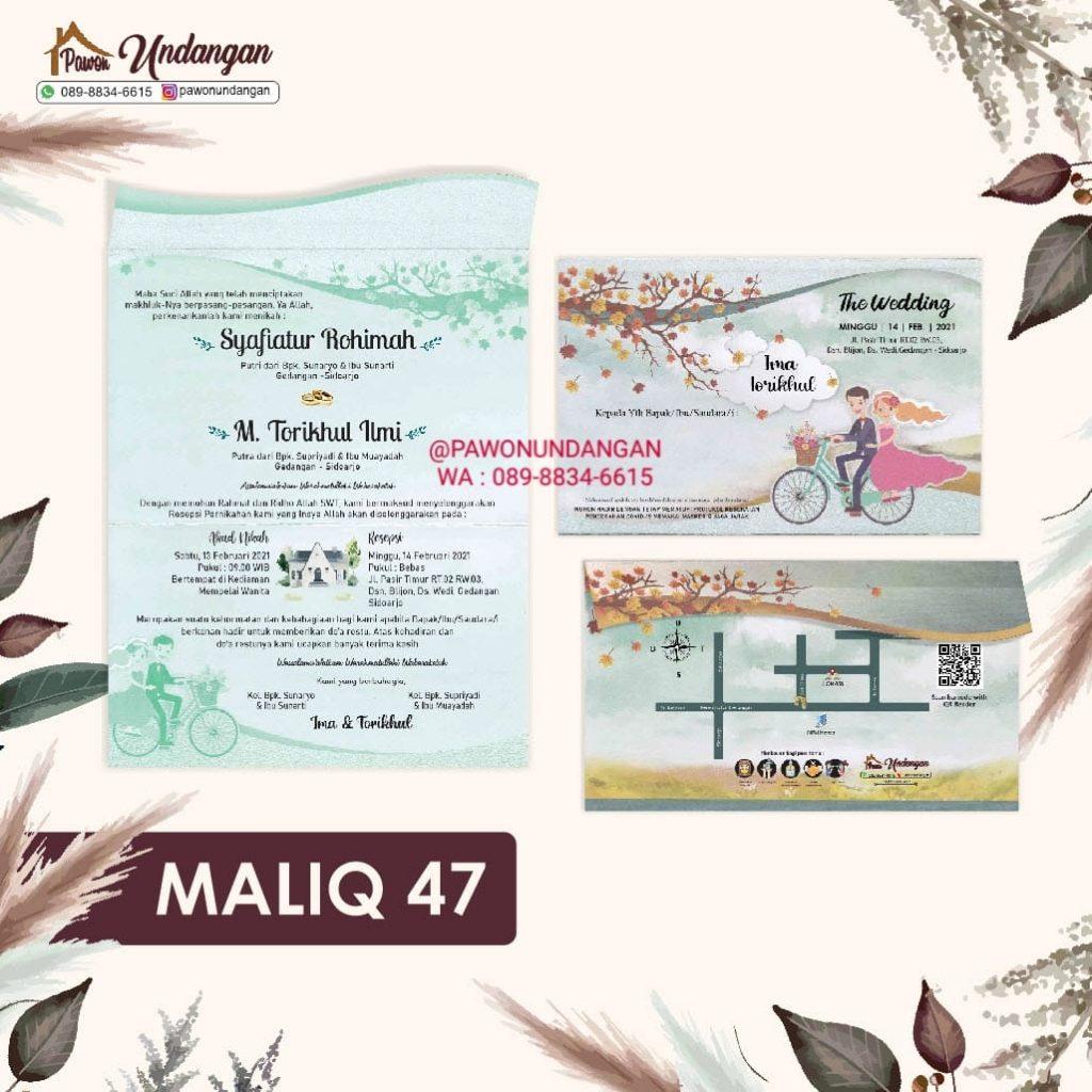 undangan maliq 47