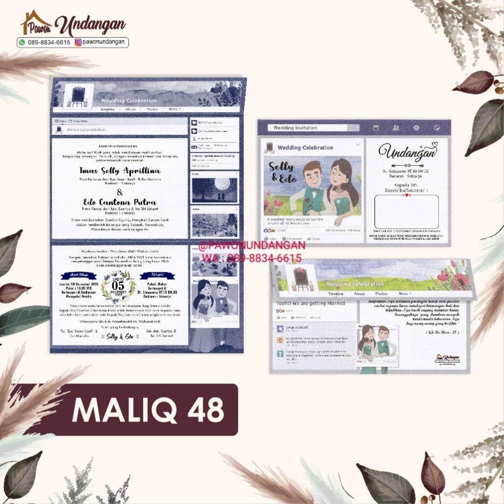 undangan maliq 48