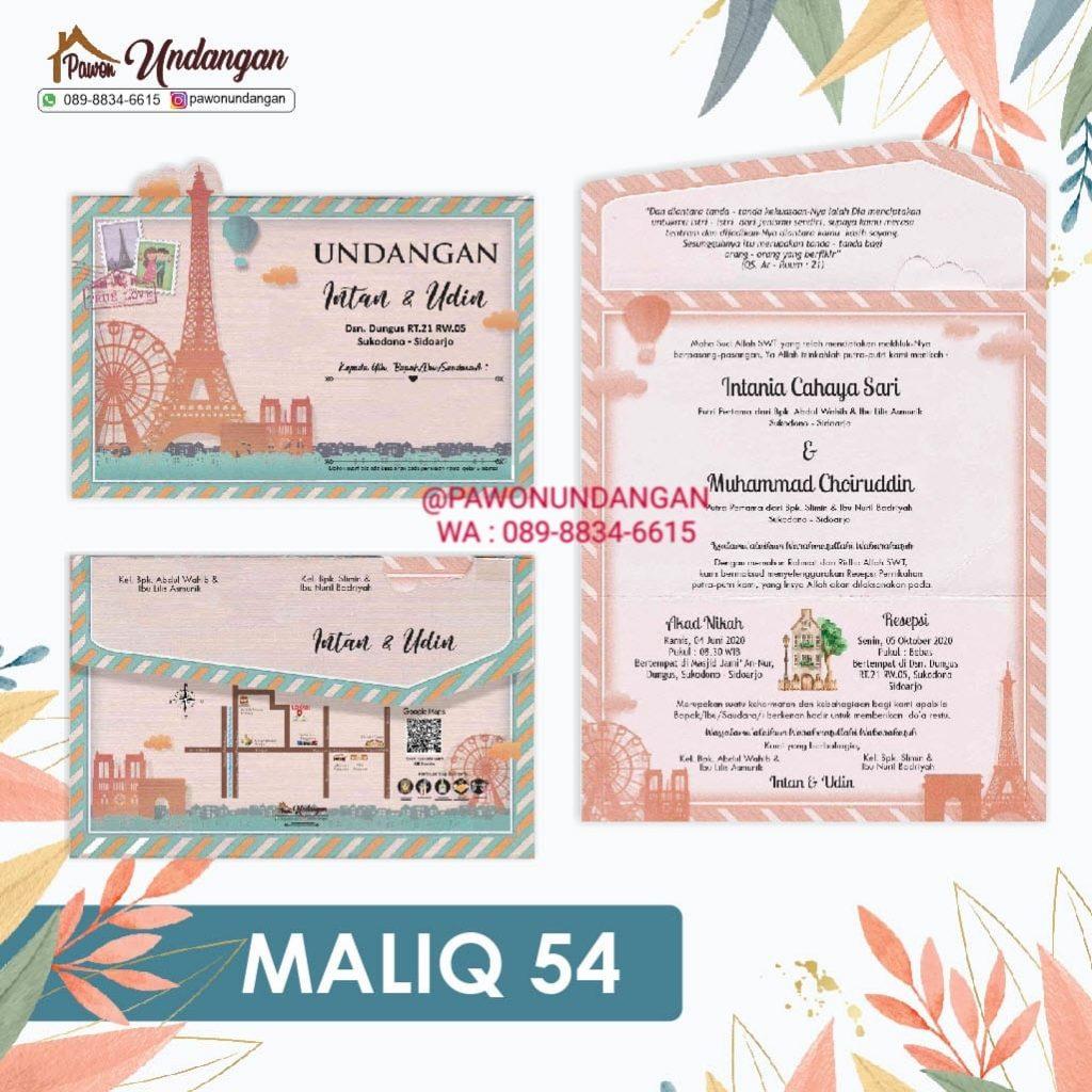 undangan maliq 54