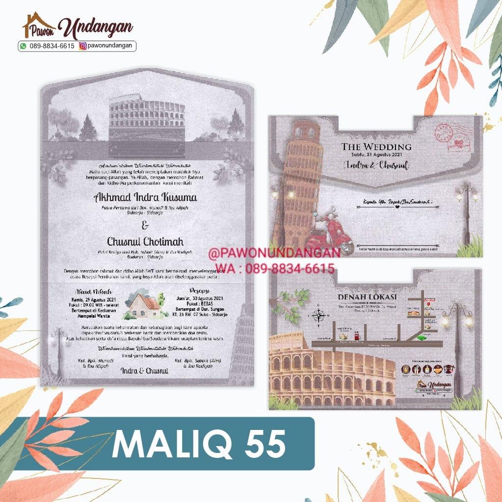 undangan maliq 55