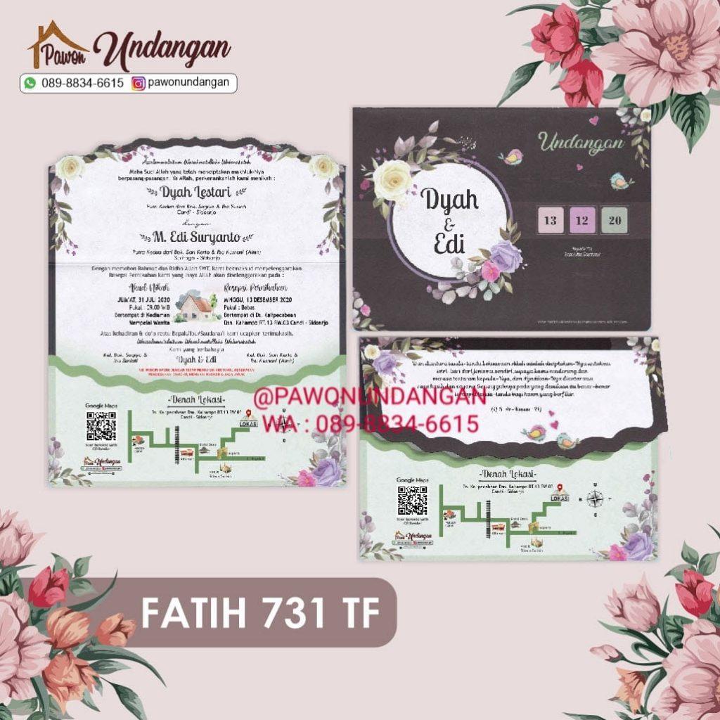 undangan new fatih 731 tf
