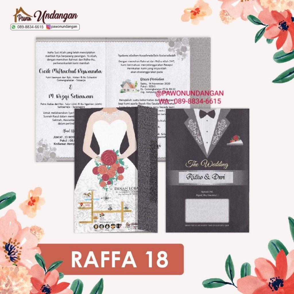 undangan raffa 18