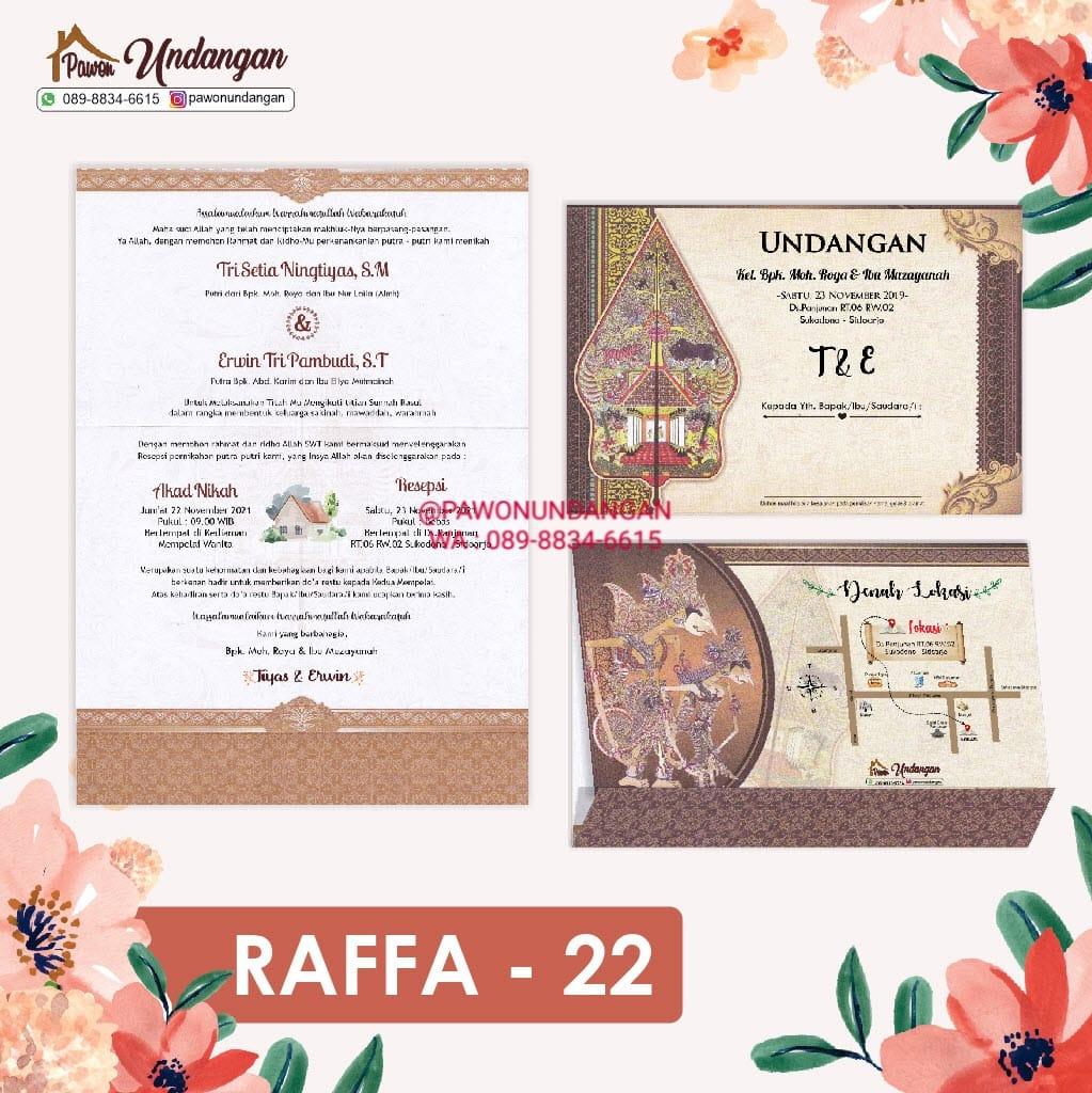 undangan raffa 22
