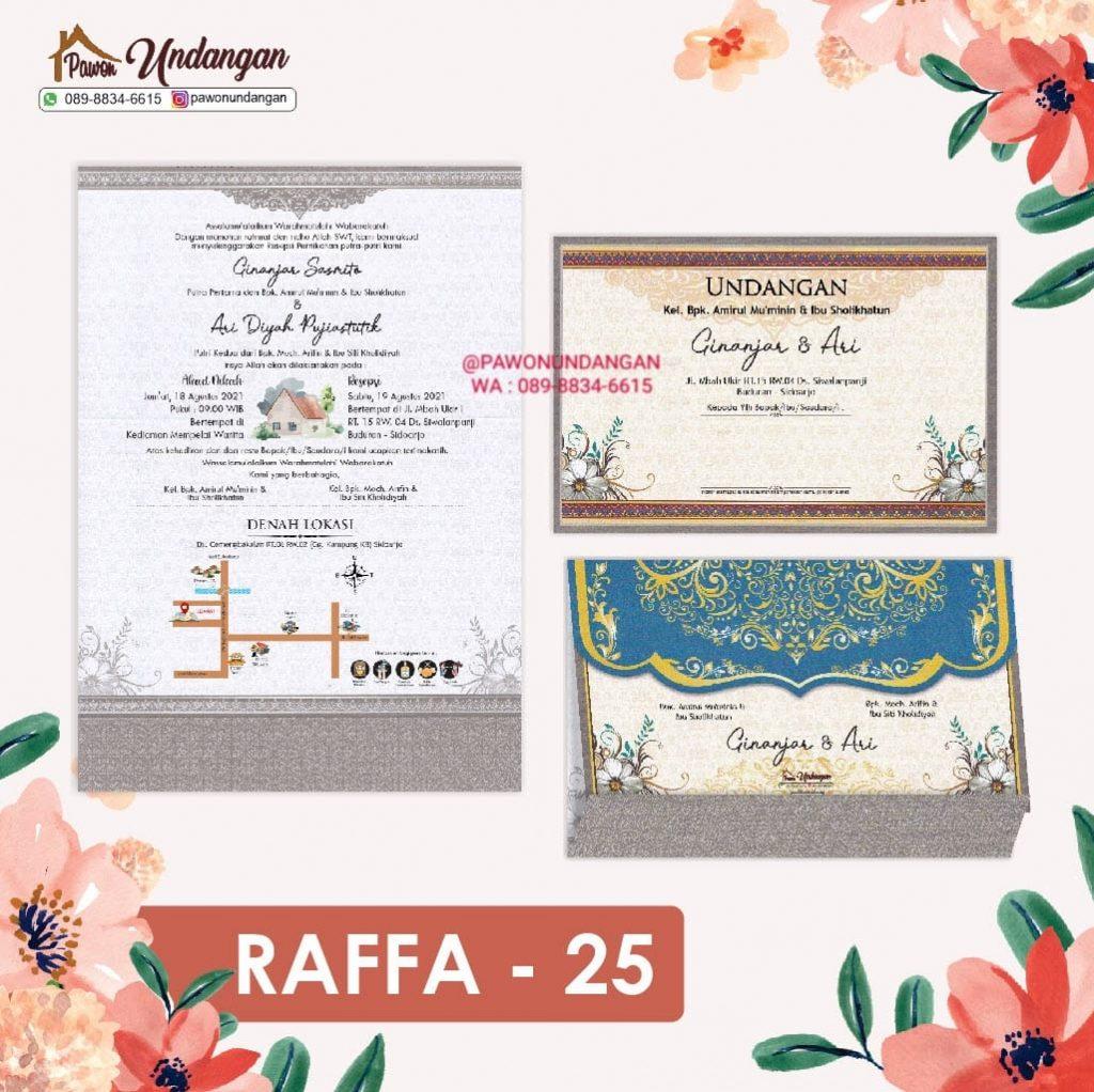 undangan raffa 25