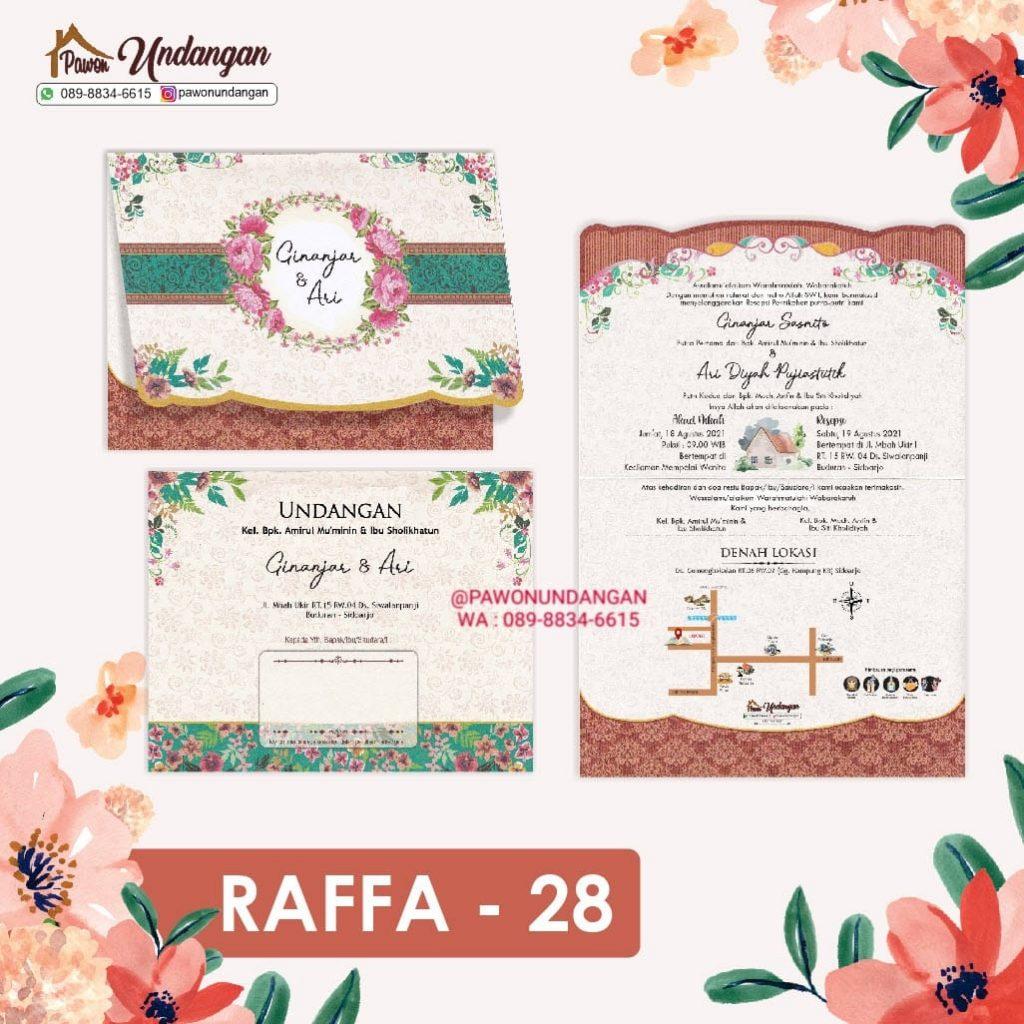 undangan raffa 28