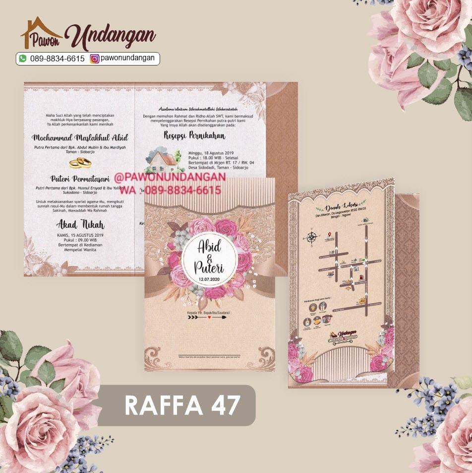 undangan raffa 47