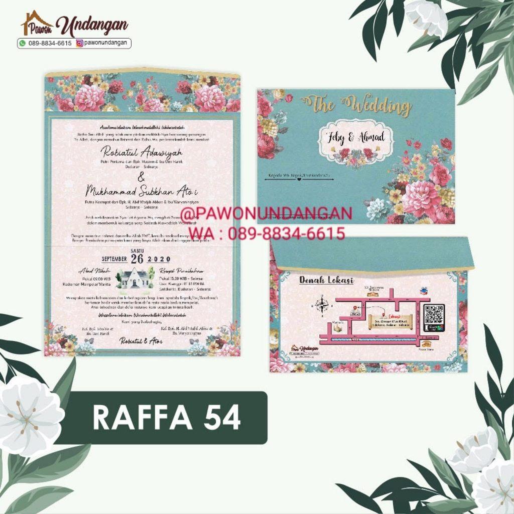undangan raffa 54