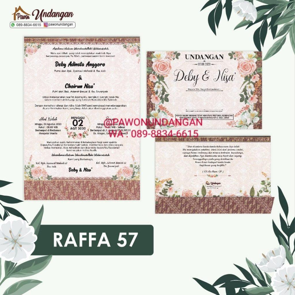 undangan raffa 57