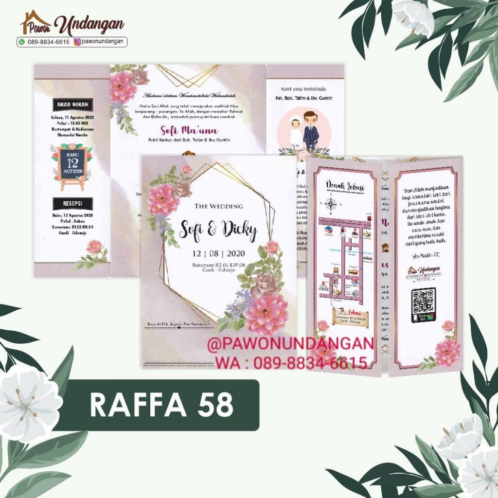 undangan raffa 58
