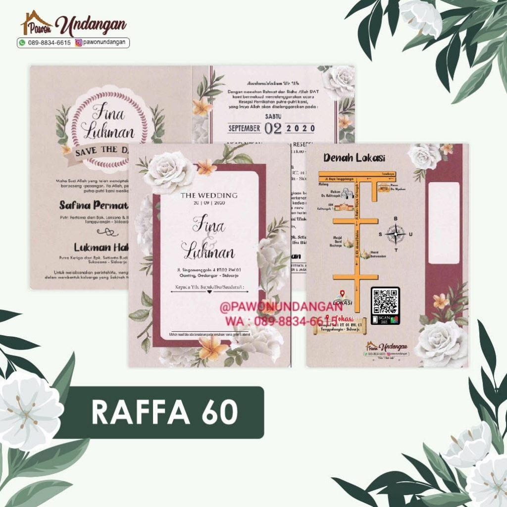 undangan raffa 60