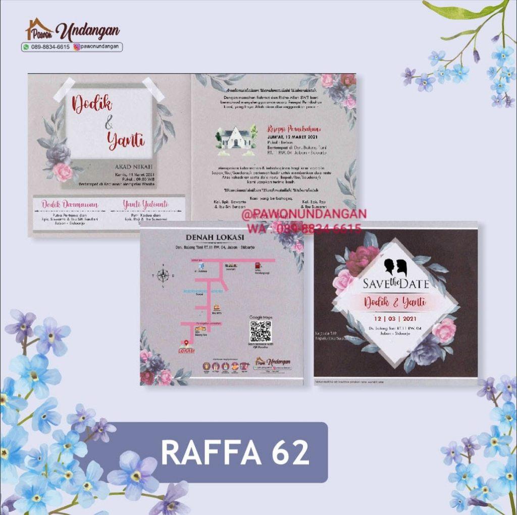 undangan raffa 62