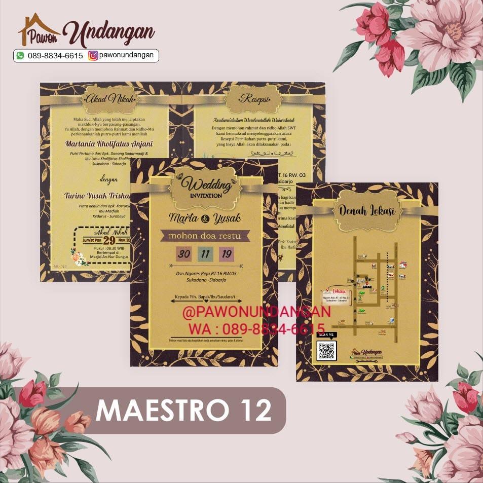 undangan maestro 12