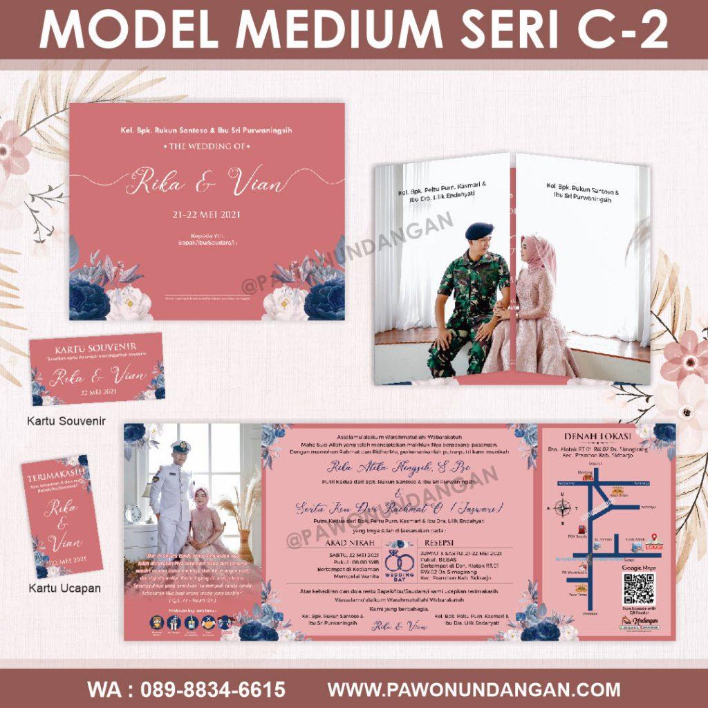 undangan softcover custom medium c2.11
